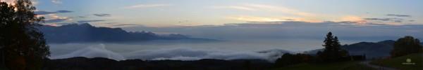 Lac léman depuis Mont pélerin 22.10.2013