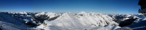 Vue depuis le sommet du TGV des Mossettes VS - 12.01.10