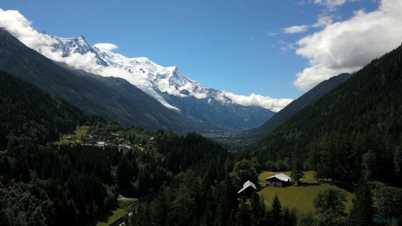Le Mont Blanc - Chamonix 74