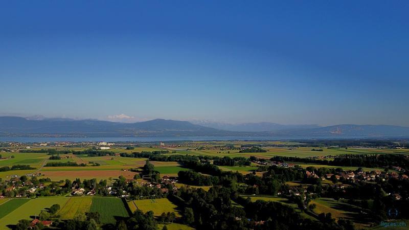 Nyon et le Mont Blanc