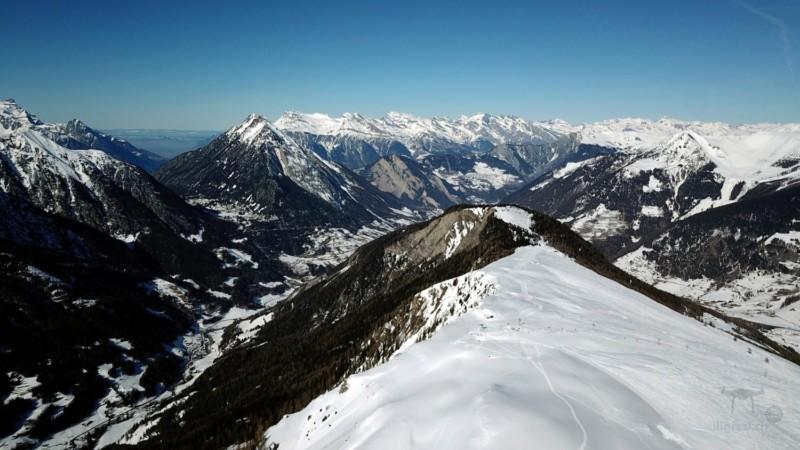 Domaine skiable de Vichères Bavon - Février 2019