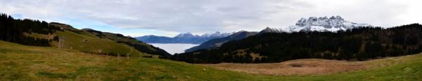 Vue sur le Chablais depuis Champoussin (1600m) (30.11.2014)