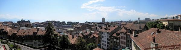 Lausanne depuis cité - 16.07.12