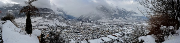 Martigny sous la neige (28.12.2014)