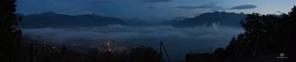 Vevey depuis Mont pélerin 22.10.2013