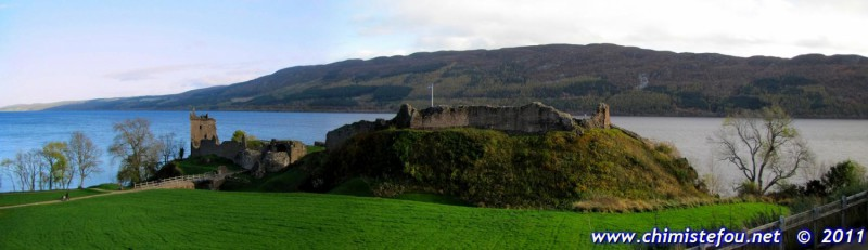Urquhart Castle - Loch Ness