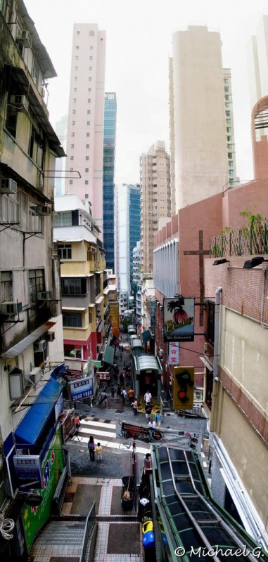 Middle levels - Hong Kong Centre