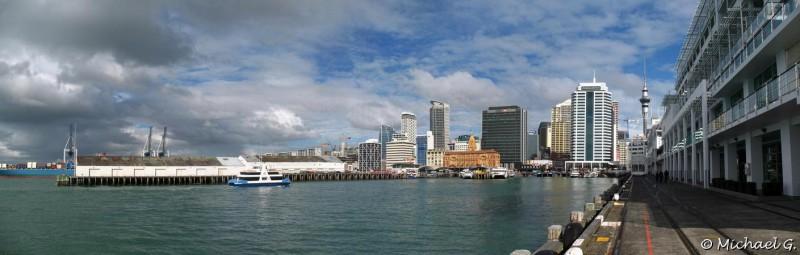 Auckland, île du nord - première ville du pays (c'est pas la capitale ;) )