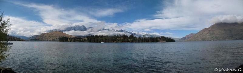 Queenstown et le Wakatipu lake - Otario