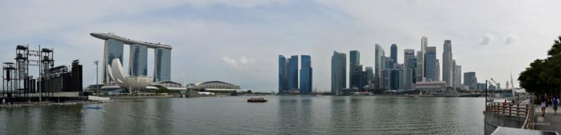 arina Bay Hotel & Singapore main CBD