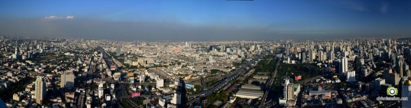 Bangkok from Baiyoke sky tower 3