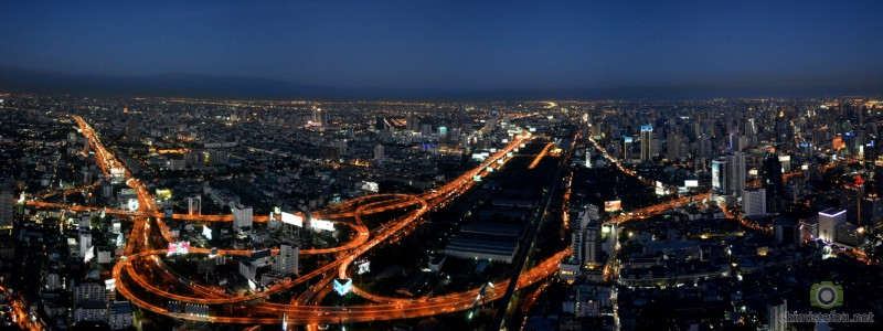Bangkok from Baiyoke sky tower 1