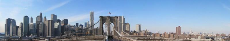 New York South Manhattan from brooklin