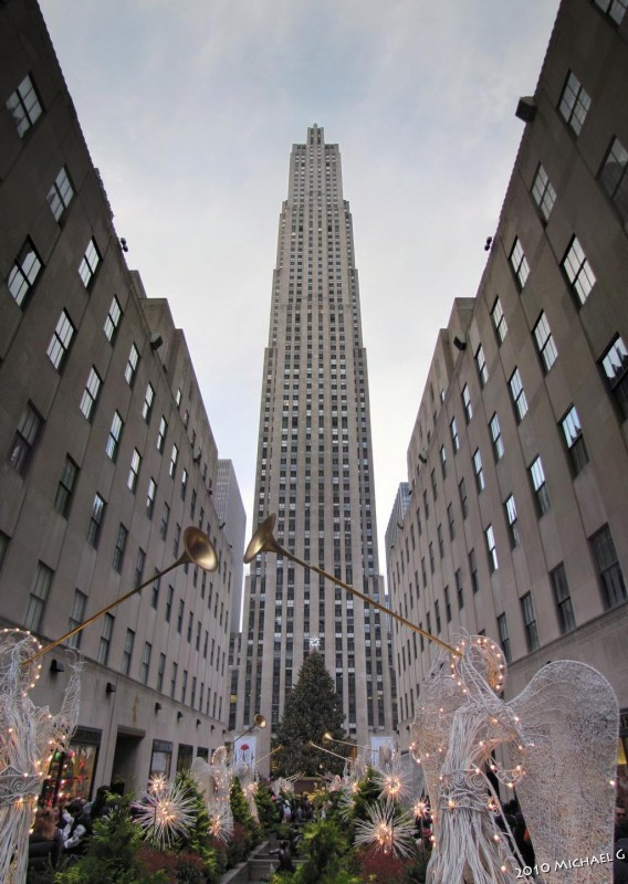 NYC Rockfeller center