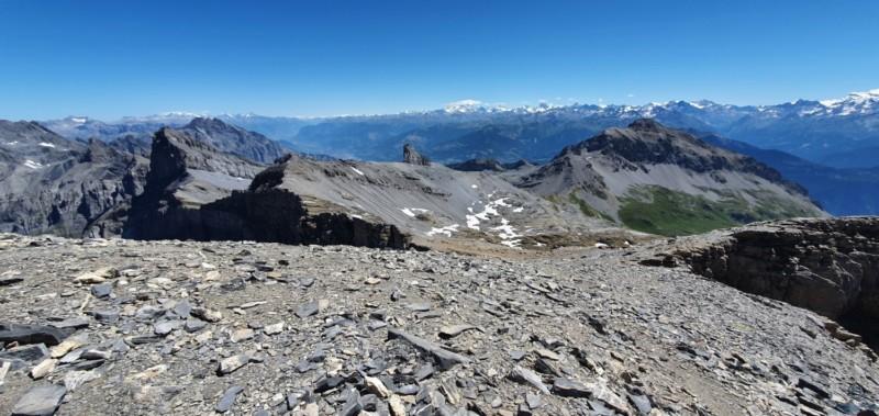 Le sommet vue sur Sion