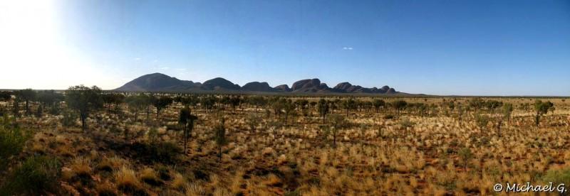 Rock formation, the olgas - Uluru - Northern Territories