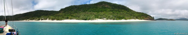 Sailing near the great reef and snorkelling - Whitsundays - Queensland