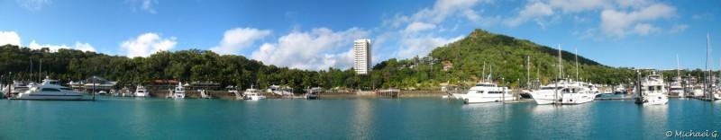Hamilton Island's marina - Queensland