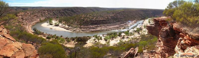 Z-Bend gorge - Kalbarri National Park - Western Australia