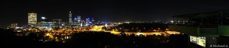 Perth by night - Western Australia