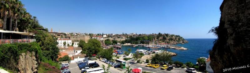 Antalya, port touristique